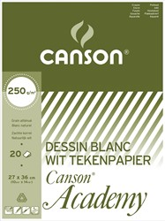 Canson Tekenblok Academy ft 27 x 36 cm