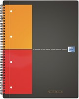 Oxford INTERNATIONAL Notebook Connect, met scanbare pagina's, 160 bladzijden, ft A4+, geruit 5 mm