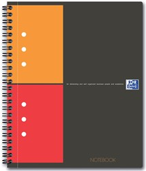 Oxford INTERNATIONAL Notebook Connect, met scanbare pagina's, 160 bladzijden, ft A5+, geruit 5 mm