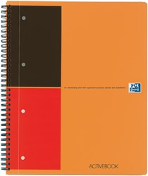 Oxford INTERNATIONAL Activebook, 160 bladzijden, ft A4+, gelijnd