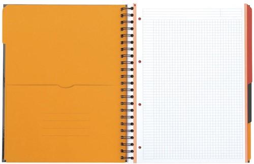 Oxford INTERNATIONAL Filingbook, 200 bladzijden, ft A4+, gelijnd-2