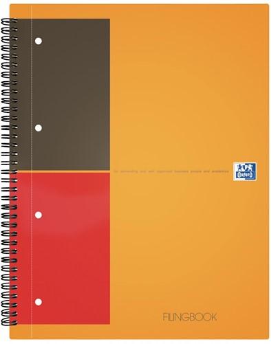 Oxford INTERNATIONAL Filingbook, 200 bladzijden, ft A4+, gelijnd
