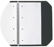 Oxford INTERNATIONAL Meetingbook, 160 bladzijden, ft A4+, geruit 5 mm-1
