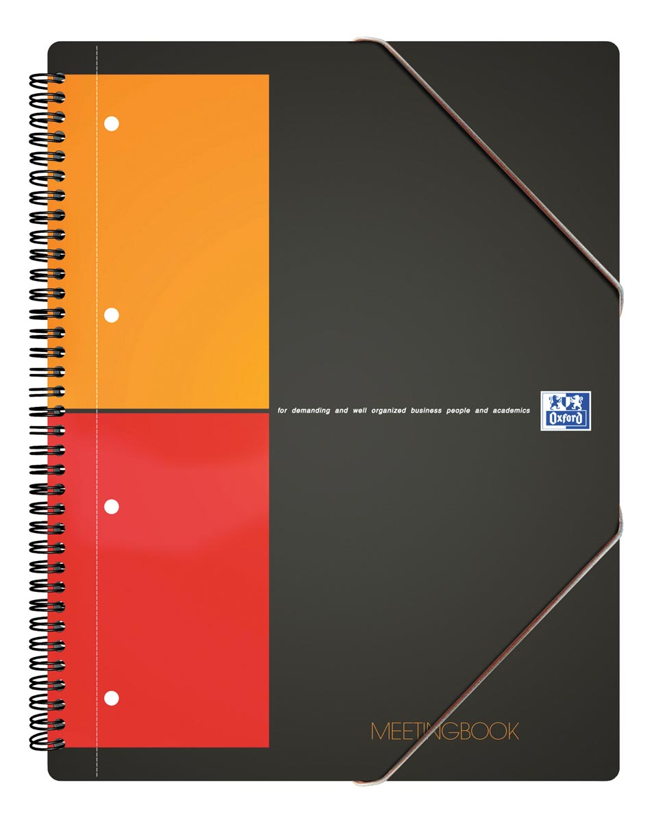 Oxford INTERNATIONAL Meetingbook, 160 bladzijden, ft A5+, geruit 5 mm