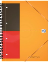 Oxford INTERNATIONAL Meetingbook, 160 bladzijden, ft A5+, gelijnd