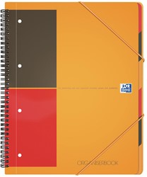 Oxford INTERNATIONAL Organiserbook, 160 bladzijden, ft A4+, gelijnd