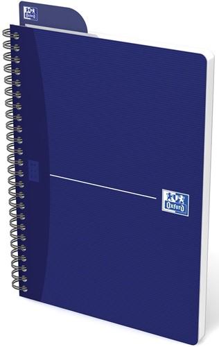Oxford OFFICE Essentials spiraalblok, 180 bladzijden, ft A5, gelijnd