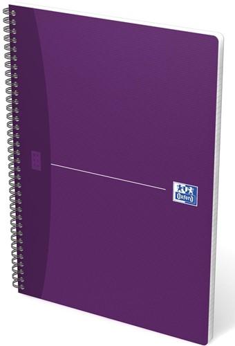 Oxford OFFICE Essentials spiraalblok, 100 bladzijden, ft A4, geruit 5 mm