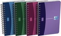 Oxford OFFICE Urban Mix spiraalblok, 180 bladzijden, ft 9 X 14 cm,  geruit 5 mm-4