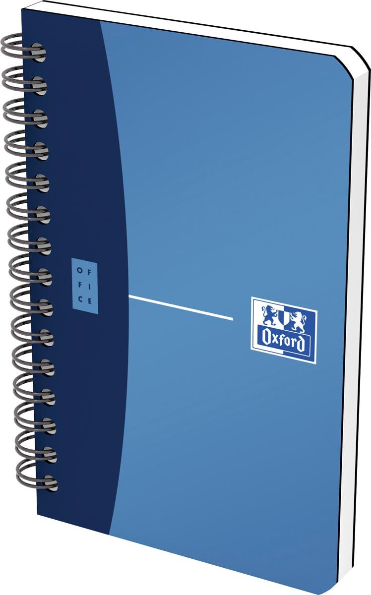 Oxford Office Urban Mix notitieboekje, 180 bladzijden, ft 9 x 14 cm, geruit 5 mm, geassorteerde kleu