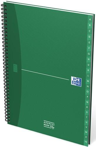 Oxford OFFICE Essentials adresboek, 144 bladzijden, ft A4