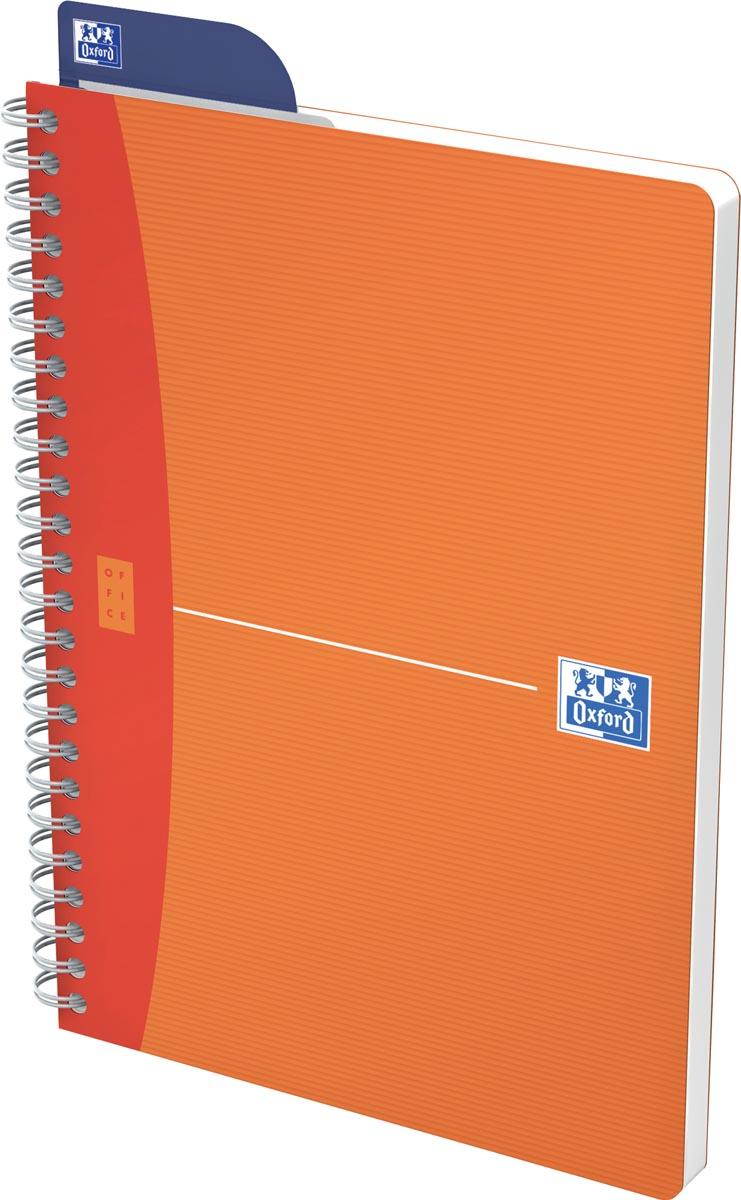 Oxford Office My Colours spiraalschrift, 180 bladzijden, ft A5, gelijnd, geassorteerde kleuren