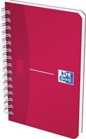 Oxford OFFICE MyColour spiraalblok, 180 bladzijden, ft 9 x 14 cm, geruit 5 mm,
