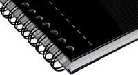 Oxford OFFICE Essentials spiraalblok smart black, 180 bladzijden, ft A5, geruit 5 mm-2