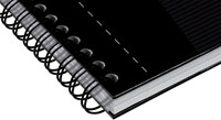 Oxford OFFICE Essentials spiraalblok smart black, 180 bladzijden, ft A5, gelijnd-2
