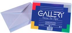 Gallery enveloppen ft 114 x 162 mm, gegomd, pak van 50 stuks