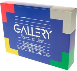 Gallery enveloppen ft 114 x 162 mm, stripsluiting, doos van 50 stuks