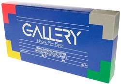 Gallery enveloppen ft 114 x 229 mm, stripsluiting, doos van 50 stuks