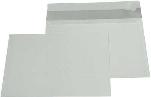Gallery enveloppen ft 156 x 220 mm, stripsluiting, binnenzijde grijs, doos van 500 stuks