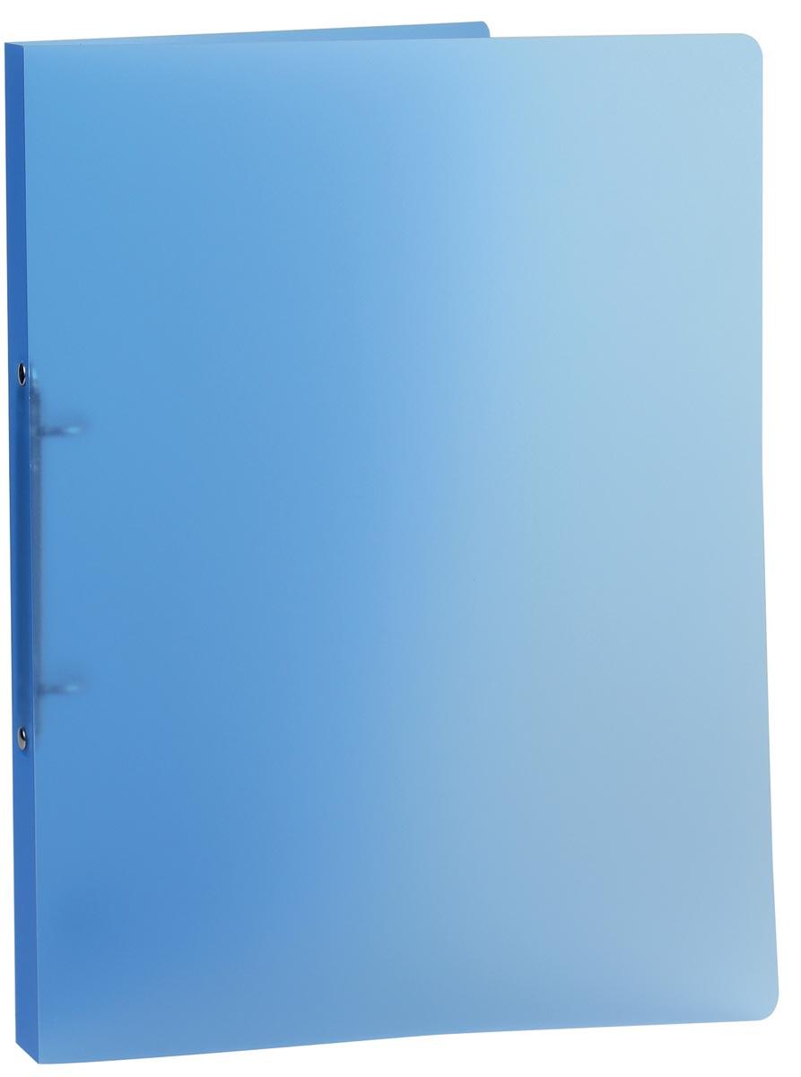 Class'ex ringmap, 2 ringen van 16 mm, transparant blauw