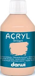 Darwi glanzende acrylverf, flacon van 250 ml, huidskleur