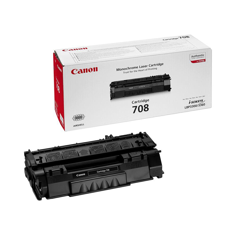 Canon Tonercartridge zwart 708 - 2500 pagina's - 0266B002