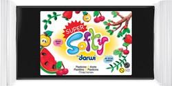 Darwi boetseerpasta Super Softy 350 g, zwart