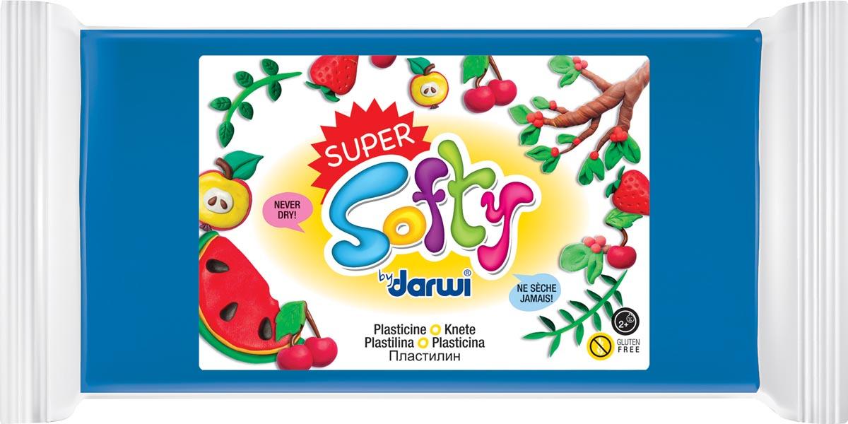 Darwi boetseerpasta Super Softy 350 g, blauw