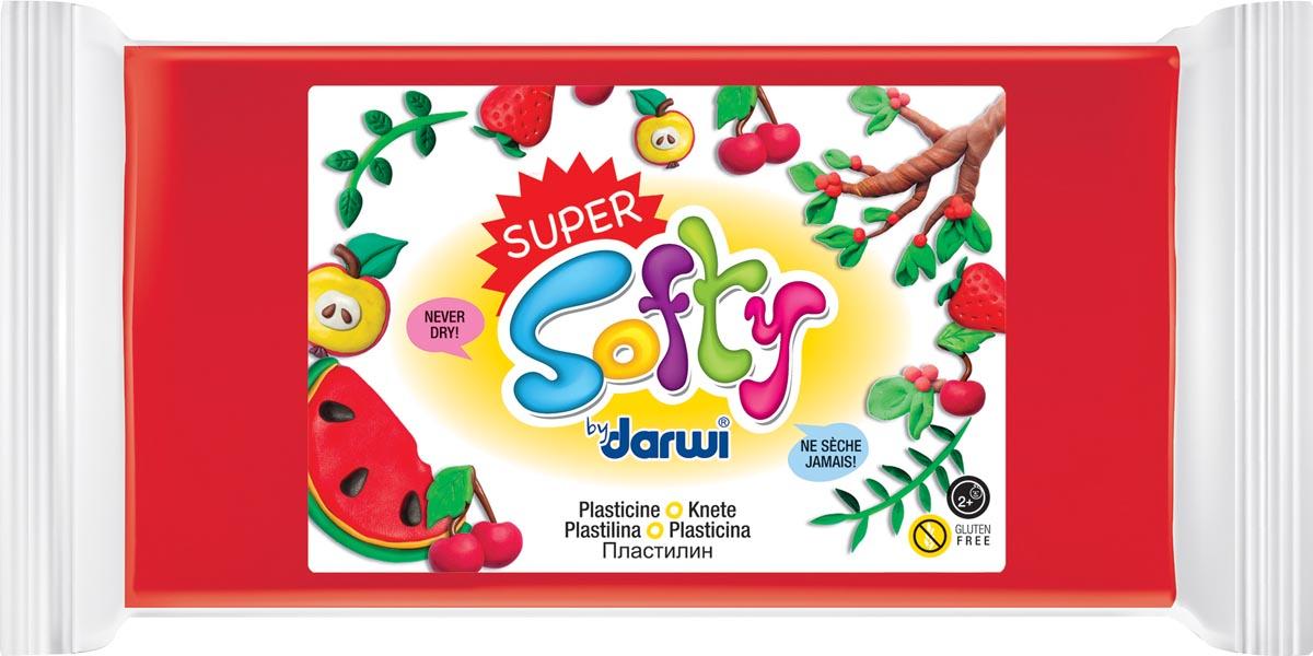 Darwi boetseerpasta Super Softy 350 g, rood