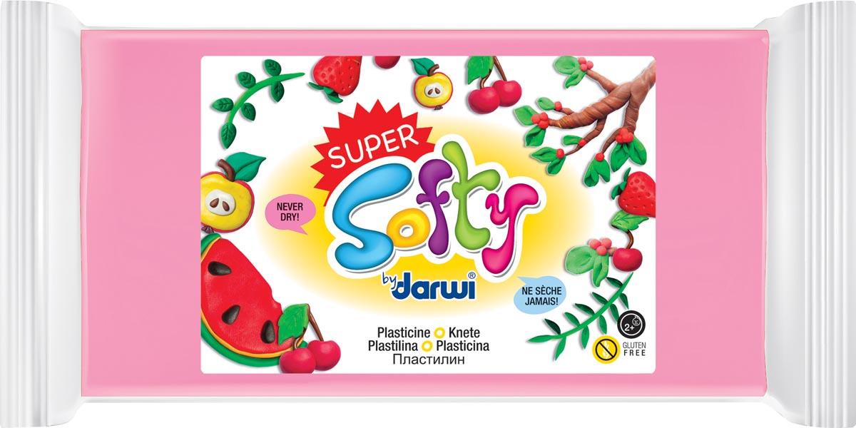 Darwi boetseerpasta Super Softy 350 g, roze