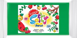 Darwi boetseerpasta Super Softy 350 g, groen