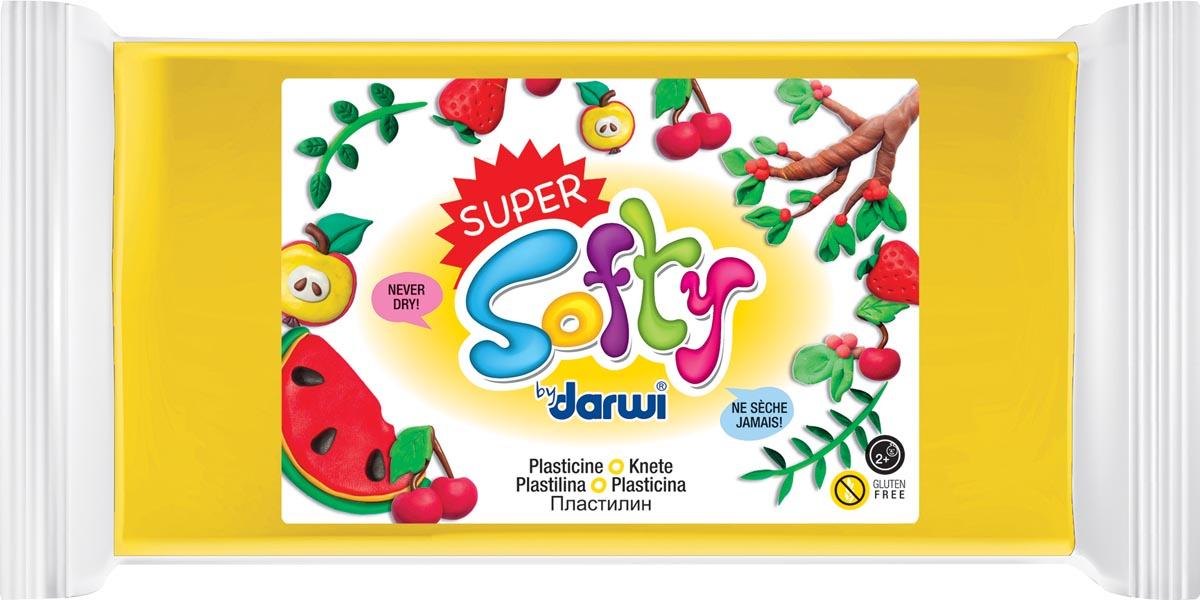 Darwi boetseerpasta Super Softy 350 g, geel