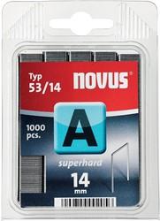 Novus nietjes A 53/14 Super Hard, doos met 1000 nietjes