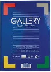 Gallery notitieboek harde kaft, ft A4, gelijnd, 192 bladzijden