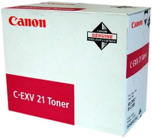 Canon Toner geel CEXV21 - 14000 pagina's - 0455B002