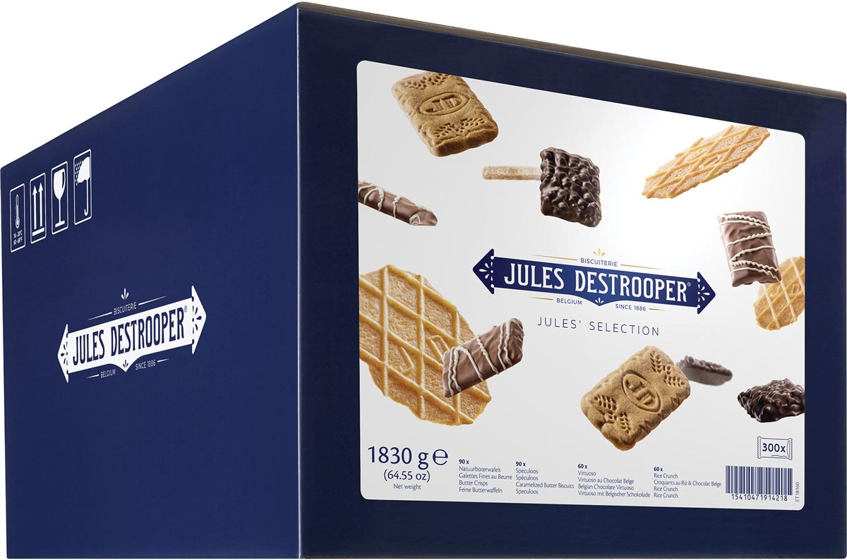 Jules De Strooper koekjes, Jules' Selection, doos van 300 stuks