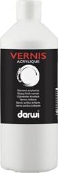 Darwi acrylvernis glanzend, flacon van 500 ml