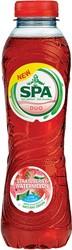 Spa Duo limonade aardbei-watermeloen, 50 cl, pak van 24 stuks