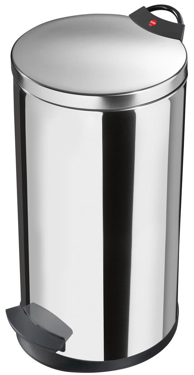 Hailo pedaalemmer T2, 20 liter, inox