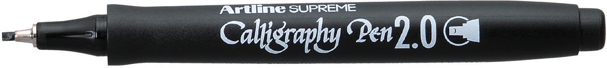 Artline kalligrafiepen ErgoLine schrijfbreedte: 2,0 mm