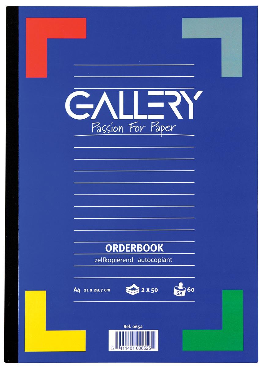 Gallery orderbook zelfkopi�rend, ft A4, 50 x 2 vel