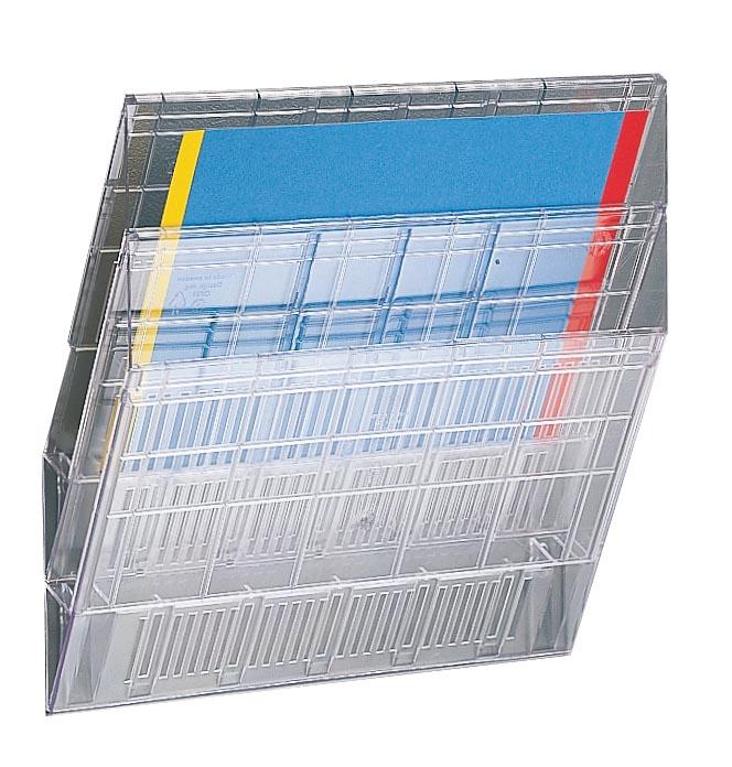 Toebehoren voor Flexiboxx uitbreiding voor Flexiboxx ft A4, transparant, 1 onderverdeling A4, ft 34