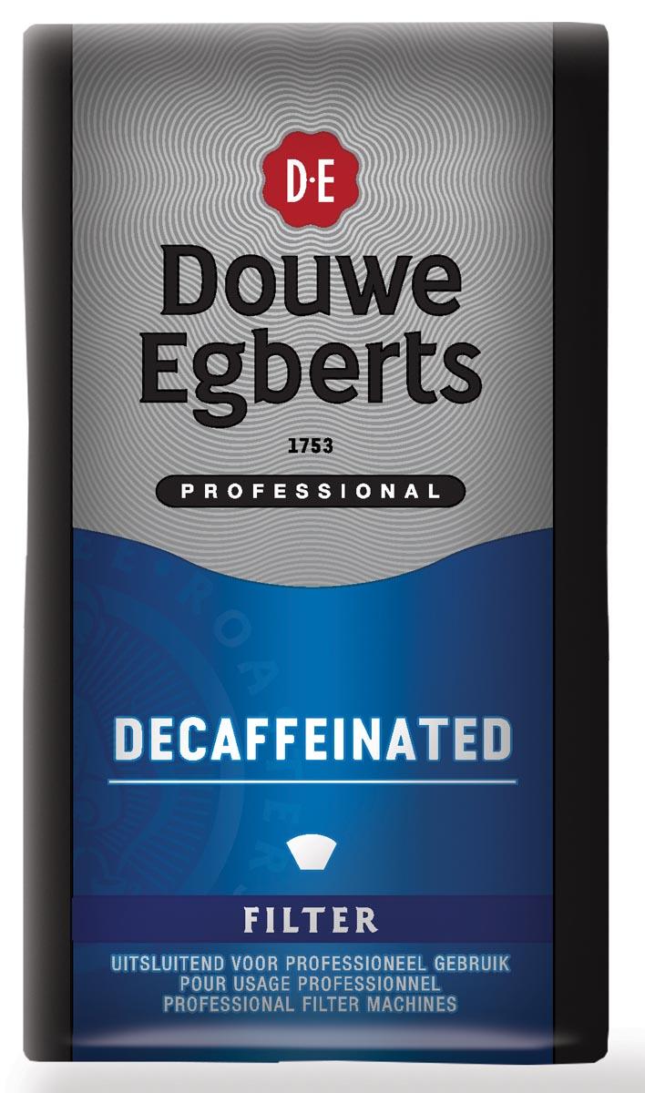 Douwe Egberts koffie, decaffeinated, pak van 250 g