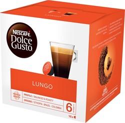 Nescafé Dolce Gusto koffiepads, Lungo, pak van 16 stuks