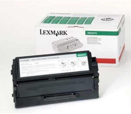 Lexmark Tonercartridge zwart return program - 3000 pagina's - 8A0476