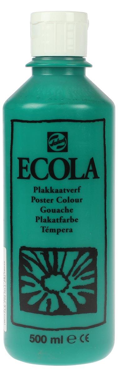 Talens Ecola plakkaatverf flacon van 500 ml, donkergroen