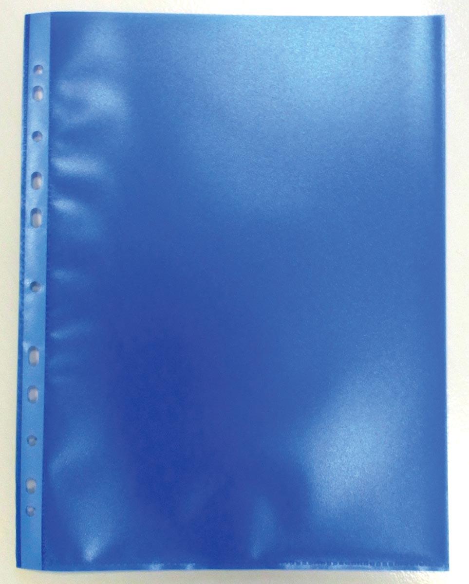 Geperforeerde showtas, blauw, pak van 50