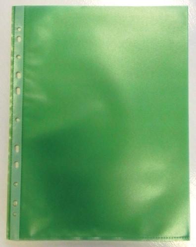 Geperforeerde showtas, groen, pak van 50