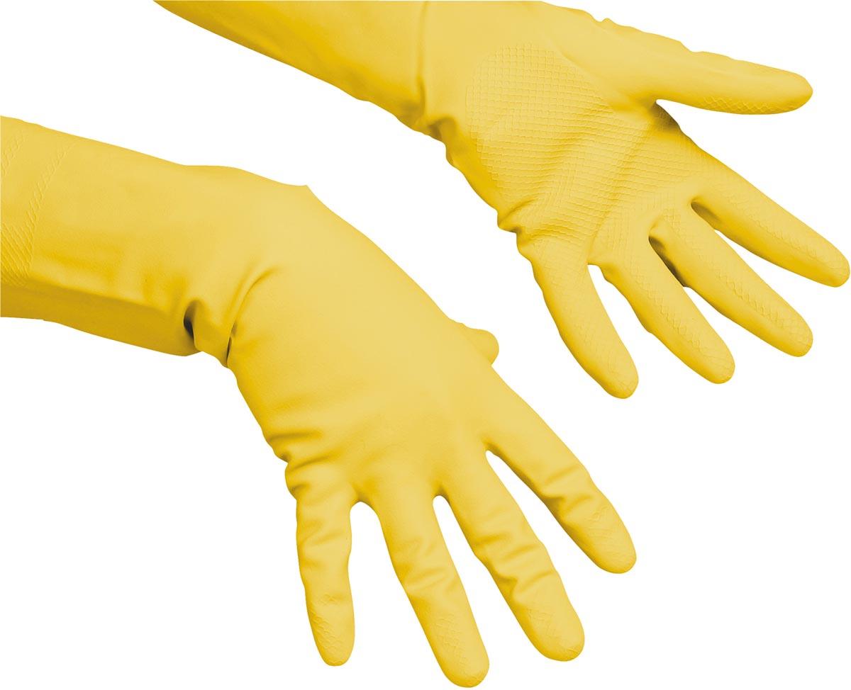 Vileda handschoenen Multi Purpose, large, geel