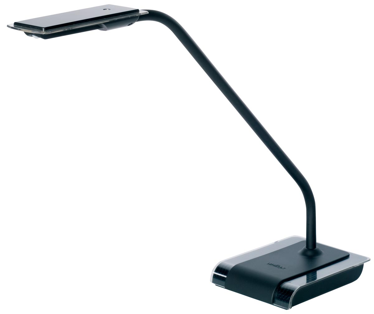 Unilux bureaulamp Sensation, LED-lamp, zwart